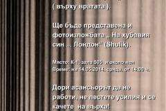 Изложби 2014