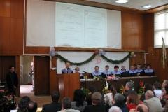 Патронен празник 2008. Проф. МАРИН ЧОНЕВ - почетен доктор на ШУ